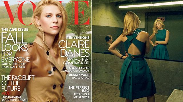 Claire Danes on Turning Down Reunion with DiCaprio