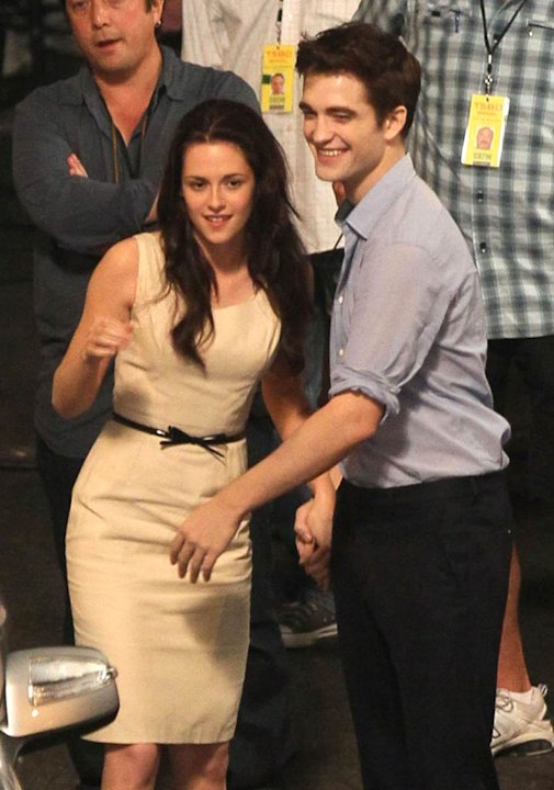 Stewart Pattinson Breaking Dawn Set