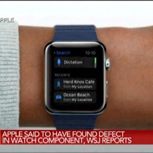 Apple Said to Have Found Defect in Watch Component: WSJ