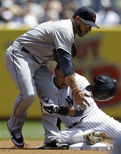 Sabathia beats former team, Yankees top Tribe 6-4