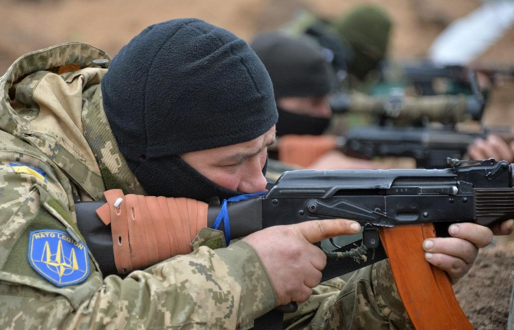 US troops in Ukraine to train forces fighting pro-Russia rebels