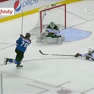 MacKinnon goes top shelf on Harding