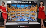 LG's 84inch 4K Ultra Definition 3D TV