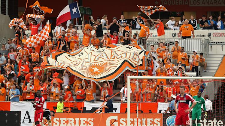 MLS: Chicago Fire at Houston Dynamo