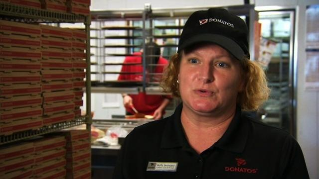 Undercover Boss - Interview with Buffy (Donatos)