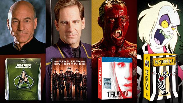 "TV on DVD: ""Star Trek: The Next Generation"" Season 3 Blu-Ray, ""Star Trek: Enterprise"" Season 1 Blu-Ray, ""True Blood"" Season 5 Blu-Ray, ""Beetlejuice"" The Complete Series DVD"