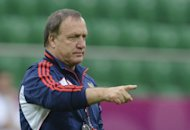 Russia&#39;s impressive start to their Euro 2012 campaign is down to coach Dick Advocaat, seen here on June 7, Zenit Saint-Petersburg and Russian first choice goalkeeper Vyacheslav Malafeev told uefa.com