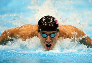 Michael Phelps | Photo Credits: Martin Bureau/AFP/GettyImages