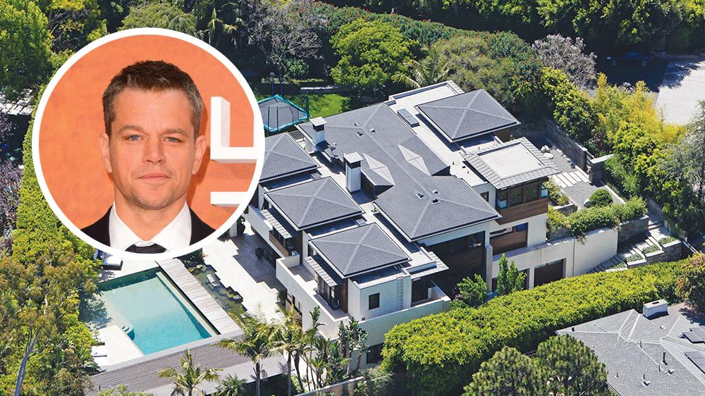 Matt Damon Selling Pacific Palisades Mansion (EXCLUSIVE)