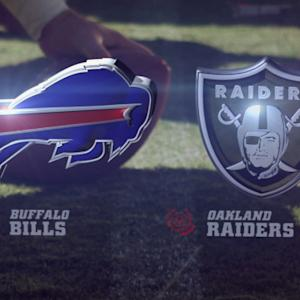 Week 16: Buffalo Bills vs. Oakland Raiders highlights