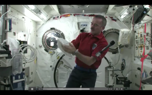 How Do You Puke Without Gravity? (Video)