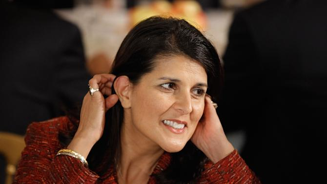 South Carolina Gov. Nikki Haley