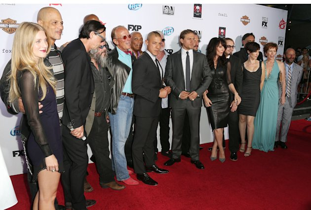 'Sons of Anarchy' Season 6 Premiere Red Carpet