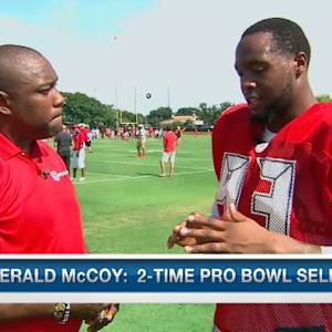 Gerald McCoy and Warren Sapp one-on-one