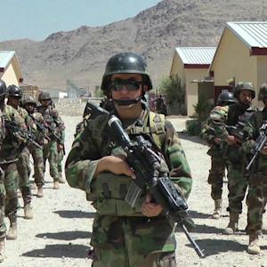 AFGHAN SOLDIERS MISSING FROM U.S. BASE