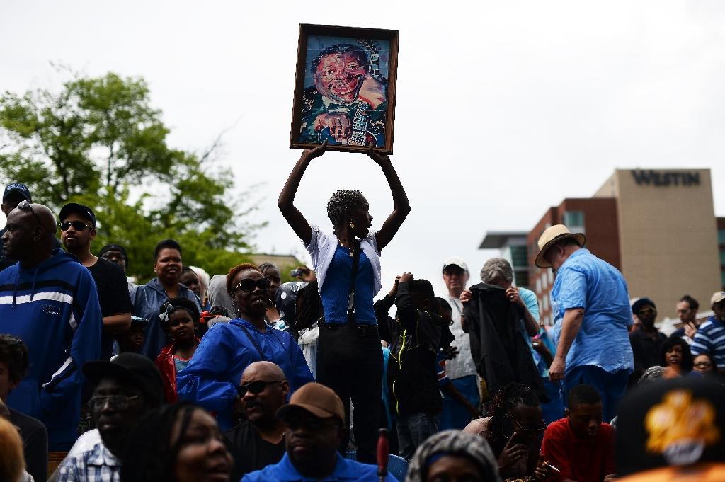 Memphis pays final tribute to blues legend B.B. King