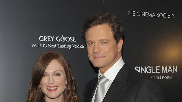 A Single Man NY Screening 2009 Julianne Moore Colin Firth