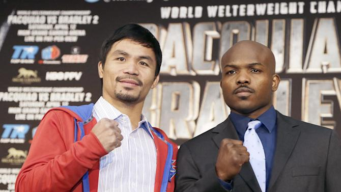 Pacquiao, Bradley both seek redemption in rematch