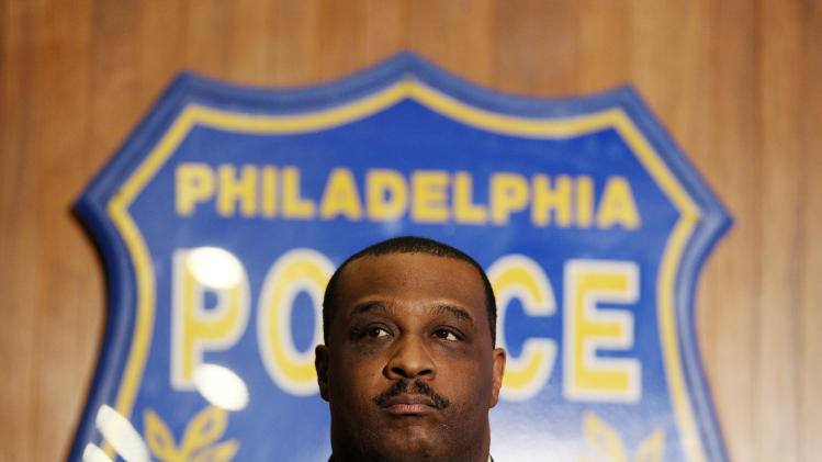 Philadelphia Police Capt. James Clark, commander of the homicide unit, listens to a question during a news conference, Monday, Jan. 17, 2011, in Philadelphia. Police announced that Antonio Rodriguez was a person of interest in a string of recent strangulation deaths and choking sexual assaults in the Kensington neighborhood of Philadelphia. (AP Photo/Matt Slocum)