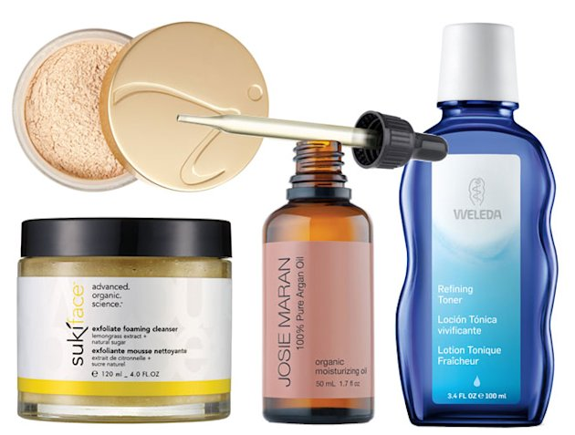 Products for combination skin