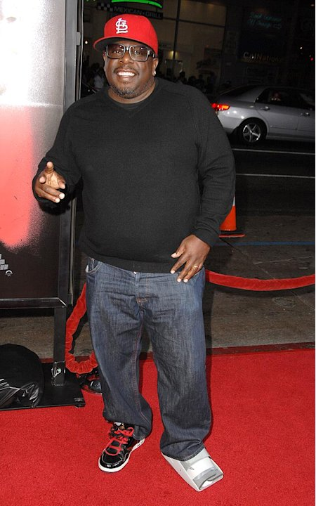 Law Abiding Citizen LA Premiere 2009 Cedric the Entertainer