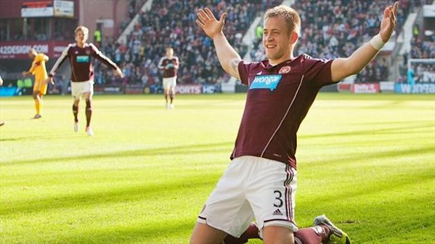 Danny Grainger was released by Hearts last week