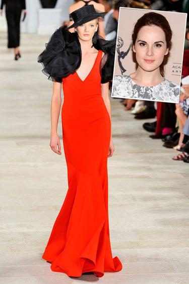 Michelle Dockery in Ralph Lauren