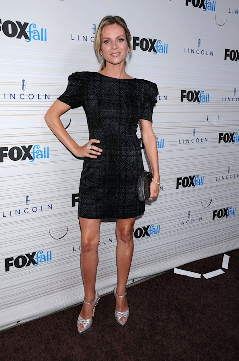 "Jessalyn Gilsig ""Glee"" arrives at the 2010 Fox Fall Eco-Casino party on September 13, 2010, at Boa in West Hollywood."