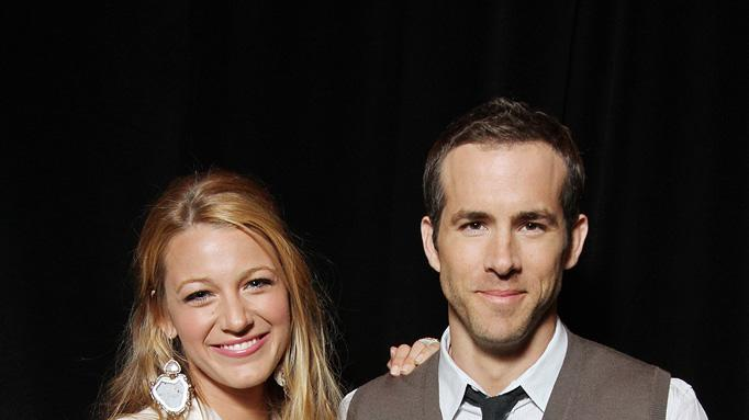 2011 CinemaCon Las Vegas Blake Lively Ryan Reynolds