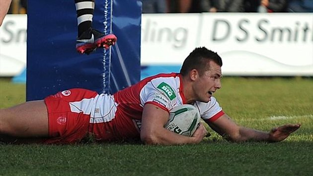 Greg Eden scored a hat-trick as Rovers secured a vital 22-21 victory