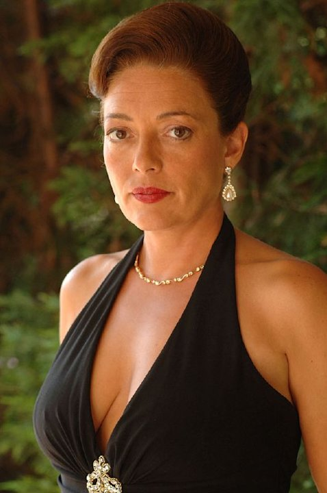 Sharon Angela stars as Rosalie Aprile in The Sopranos on HBO.