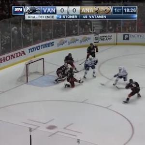 Frederik Andersen Save on Brad Richardson (01:32/1st)