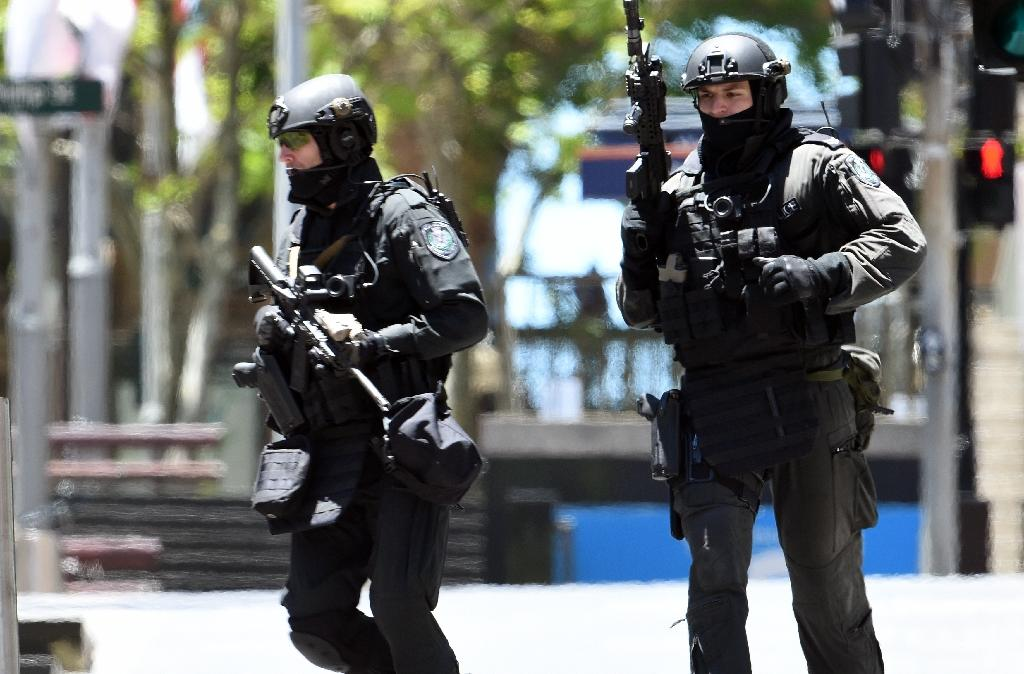 Two killed outside Australian state police headquarters