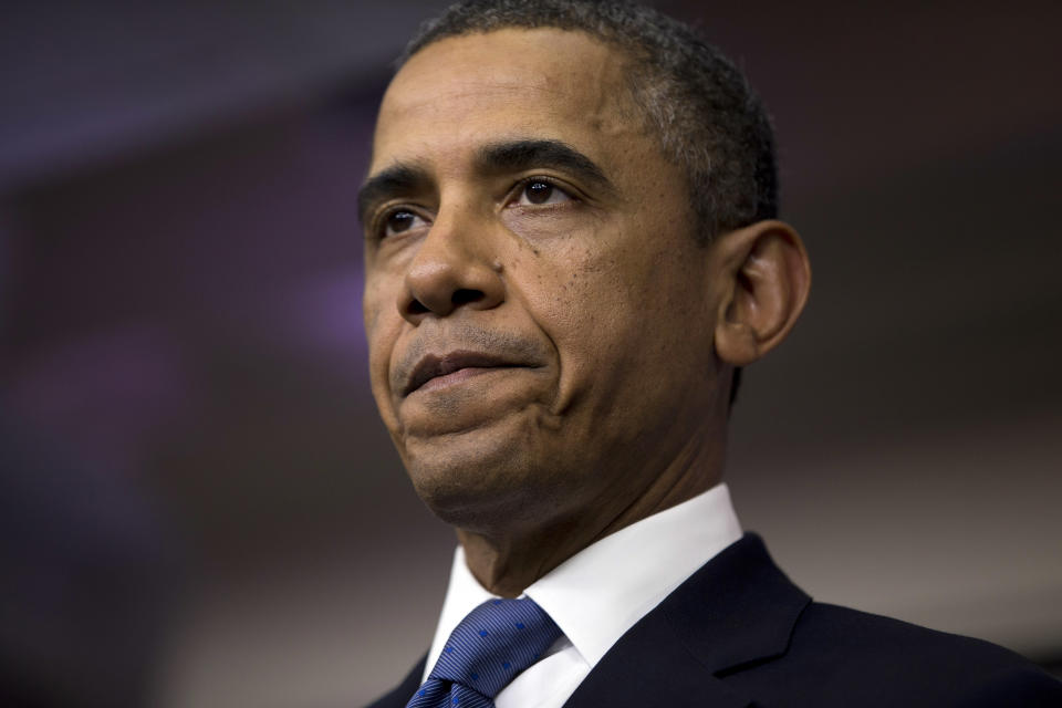 Obama: Economy can't afford 'self-inflicted wound'