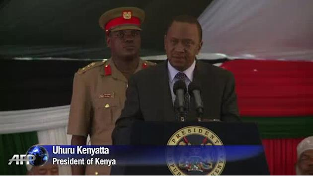 Kenyan president leads Westgate victims prayers