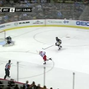 Marc-Andre Fleury Save on Jeff Skinner (04:25/1st)
