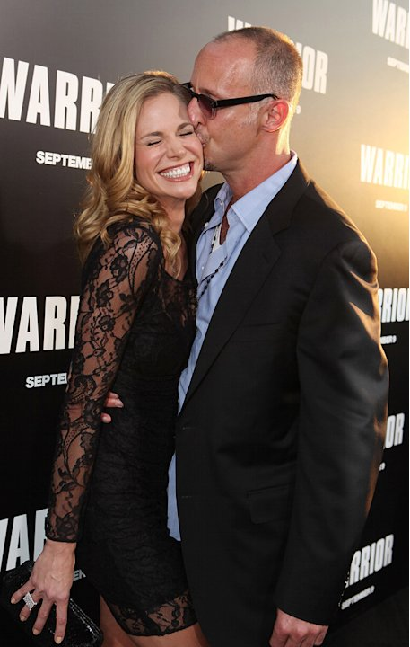 Warrior Premiere 2011 LA Brooke Burns Gavin O'Connor