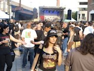 Music fans at the Maryland Deathfest in Baltimoreon May 25. Just over 20 other bands on the program are from outside the US, including Germany's Morgoth, Chile's Pentagram, Canada's Anvil, Swedish groups Setherial and Nasum, and Church of Misery from Japan
