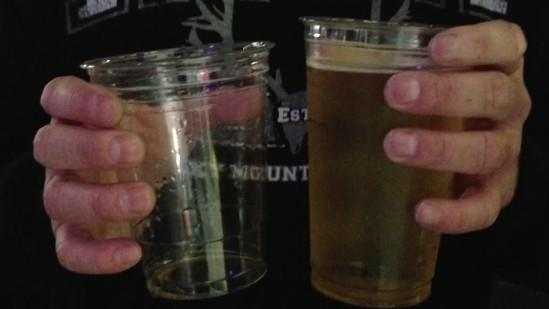 Arena rip-off: 'Large' size beer the same volume as 'regular'