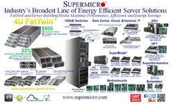 Supermicro's Revolutionary FatTwin and Broadest Line of Energy Efficient Server Solutions on Exhibit at CeBIT