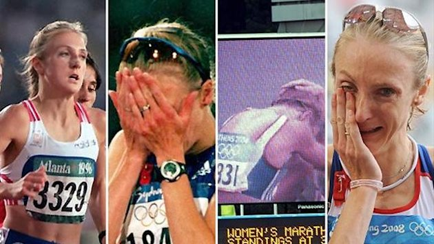 Paula Radcliffe's Olympic misery