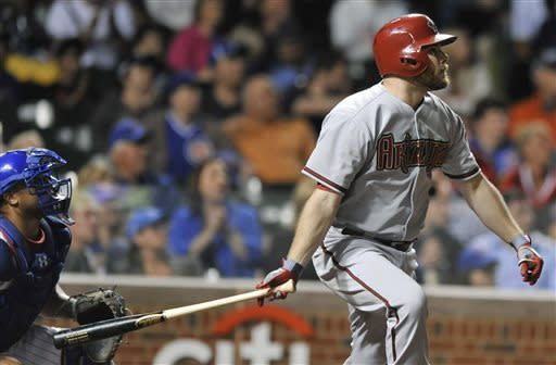 Goldschmidt hits grand slam, D-backs beat Cub 12-4