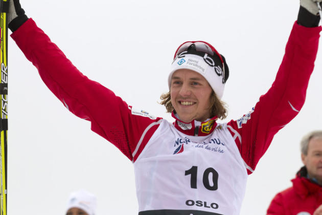 Norwegian Mikko Kokslien Celebrates AFP/Getty Images