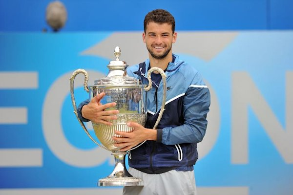 Dimitrov crowned king of Queen's