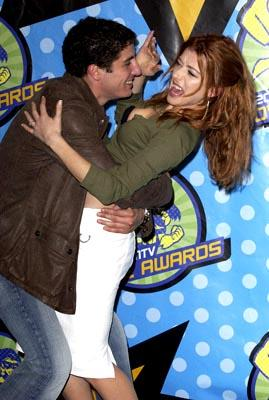 Jason Biggs, Alyson Hannigan MTV Movie Awards - 5/31/2003