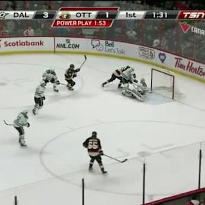 Bobby Ryan But Kari Lehtonen (18:30/1st)