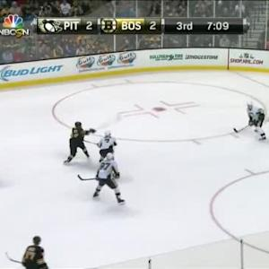 Marc-Andre Fleury Save on Brad Marchand (13:13/3rd)
