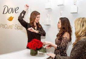 Dove® PitiCure™ Spa in New York Prepares Women for Valentine's Day