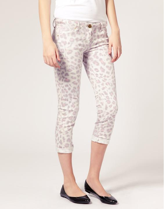 River Island Leopard Spring Skinny Jean, on sale for $42.08