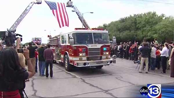 Firefighters gather for West plant blast memorial